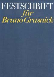 Ecrit solennel pour Bruno Grusnick