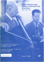 Casals/Tobel: Violoncelloschule Bach
