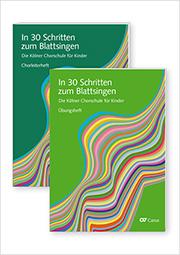 In 30 Schritten zum Blattsingen. Die Kölner Chorschule für Kinder. Kleines Set