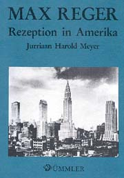 Max Reger: Rezeption in Amerika