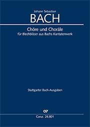 42 Chöre und Choräle für Blechbläser aus Bachs Kantatenwerk