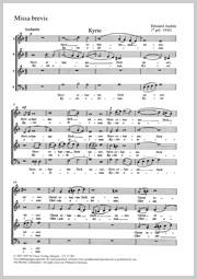 Edouàrd Andrès: Missa brevis