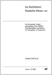 Iso Rechsteiner: Messe allemande
