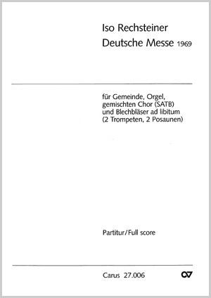 Iso Rechsteiner: Deutsche Messe