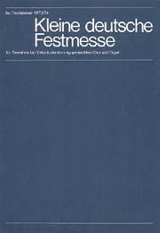 Iso Rechsteiner: Petite messe de fête allemande