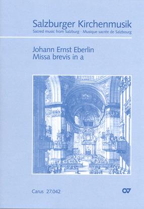 Johann Ernst Eberlin: Missa brevis in a
