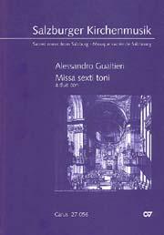 Alessandro Gualtieri: Missa sexti toni a due cori
