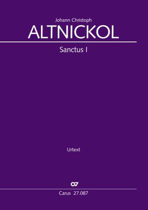 Johann Christoph Altnickol: Sanctus I