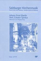 Johann Ernst Eberlin: Veni, Creator Spiritus