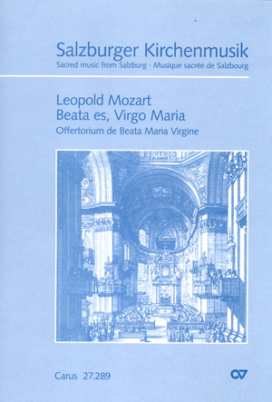 Leopold Mozart: Beata es, Virgo Maria