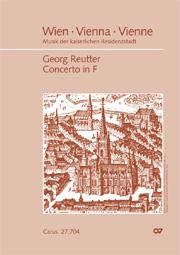 Carl Georg Reutter: Concerto per il Clavi-Cembalo in F