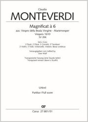 Claudio Monteverdi: Magnificat. Transposed version