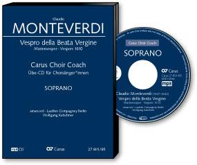 Monteverdi: Vespers 1610. Carus Choir Coach