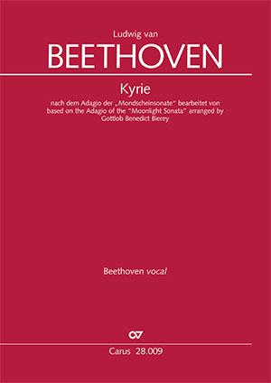 """Ludwig van Beethoven: Kyrie nach dem Adagio der """"Mondscheinsonate"""""""