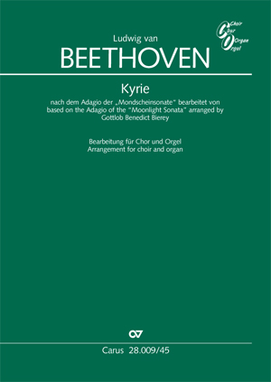 Ludwig van Beethoven: Kyrie sur l'Adagio de la Mondscheinsonate