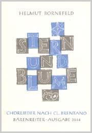 Bornefeld: Stern und Blume. 12 Chorlieder