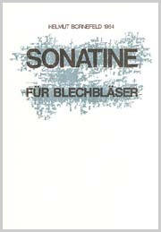 Helmut Bornefeld: Sonatine für Blechbläser