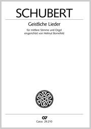 Schubert: Geistliche Lieder (arr. Bornefeld)