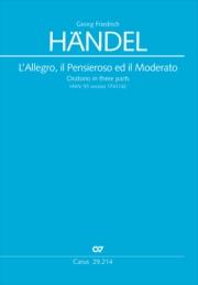 Georg Friedrich Händel: L'Allegro, il Pensieroso ed il Moderato