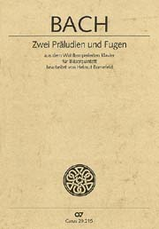 Bach: Zwei Präludien und Fugen (arr. Bornefeld)