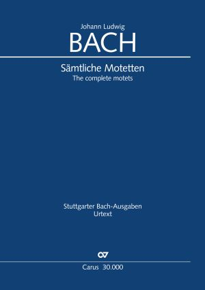J.L. Bach: The complete motets