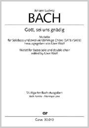 Johann Ludwig Bach: Gott, sei uns gnädig