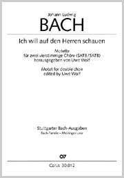 Johann Ludwig Bach: Ich will auf den Herren schauen