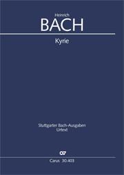 Heinrich Bach: Kyrie