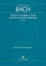 Johann Christoph Bach: Shall thus Thy wrath, o God, consum me in its blaze?