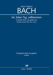 Johann Michael Bach: O joyful time, we greet you