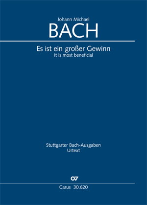 Johann Michael Bach: It is most beneficial