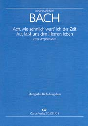 Bach, J.M.: Zwei Strophenarien