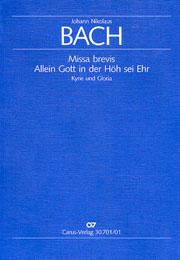 Johann Nikolaus Bach: Missa brevis