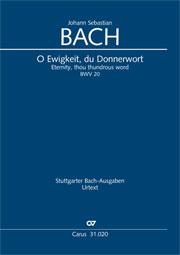Johann Sebastian Bach: Eternity, thou thundrous word