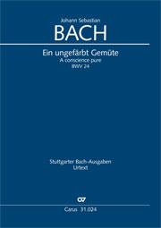 Johann Sebastian Bach: Ein ungefärbt Gemüte