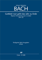 Johann Sebastian Bach: Rejoice! The passing year is ended