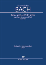 Johann Sebastian Bach: Joyful be, O ransomed flock