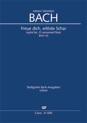Johann Sebastian Bach: Joyful be, O ransomed flock