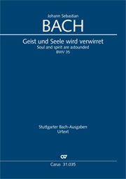 Johann Sebastian Bach: Soul and spirit are astounded