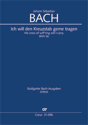 Johann Sebastian Bach: His cross of suff'ring will I carry