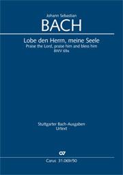 Johann Sebastian Bach: Praise the Lord, praise him and bless him
