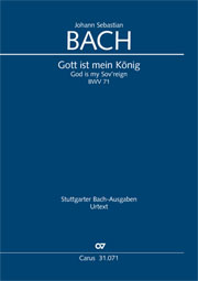 Johann Sebastian Bach: God is my Sov'reign