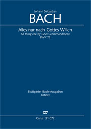 Johann Sebastian Bach: All cantate be by God's commandment