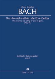 Johann Sebastian Bach: The heavens are telling of God in glory