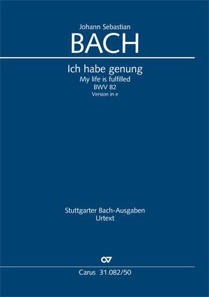 Johann Sebastian Bach: Ich habe genug (II)