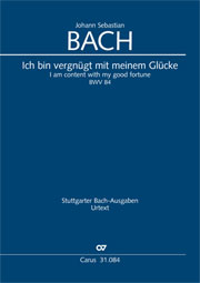 Johann Sebastian Bach: I am content with my good fortune