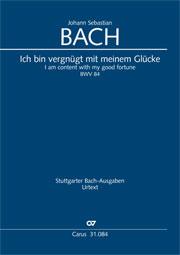 Johann Sebastian Bach: Ich bin vergnügt mit meinem Glücke