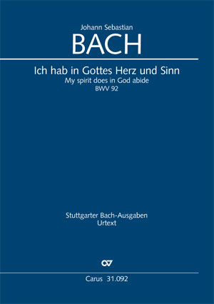 Johann Sebastian Bach: My spirit does in God abide