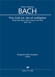 Johann Sebastian Bach: Was Gott tut, das ist wohlgetan