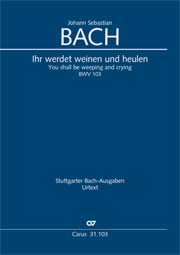 Johann Sebastian Bach: You shall be weeping and crying
